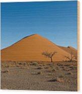 Sossusvlei Dunes Wood Print