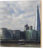 Southwark Skyline Wood Print