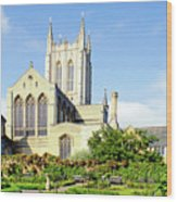 St Edmundsbury Cathedral Wood Print