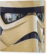 Star Wars Heroes Art Wood Print
