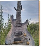 8 String Esp Ltd Jr608 Wood Print