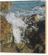 Sunshine Beach At Noosa, Sunshine Coast Wood Print