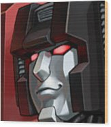 Transformers Wood Print