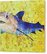 Underwater. Fish. Wood Print