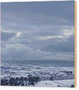 Winter In Wensleydale Wood Print