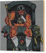80's King Wood Print