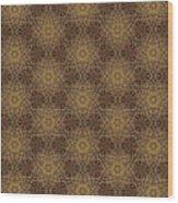 Arabesque 034 Wood Print