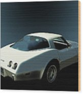 82 Corvette Generation C3 1968 To 1982 Wood Print
