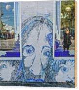 8261- Little Havana Mural Wood Print