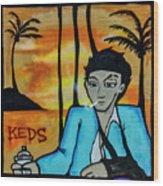 8303-2-  Little Havana Mural Wood Print