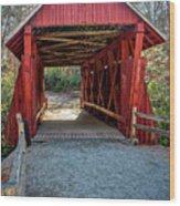 8350- Campbell's Covered Bridge Wood Print