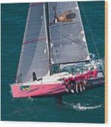 Key West Race Week Wood Print