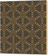 Arabesque 032 Wood Print