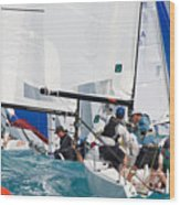 Key West Race Week Wood Print