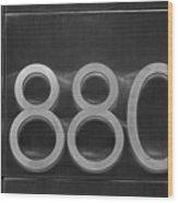880 Wood Print