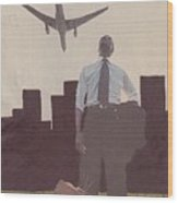 9-11-12 Wood Print