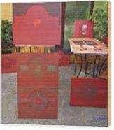 9 21 2010 Wood Print