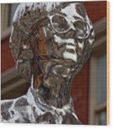 Andy Warhol Statue Union Square Nyc Wood Print
