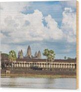 Angkor Wat In Cambodia Wood Print