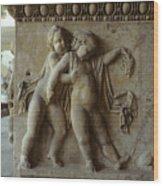 Bacchus God Of Wine Wood Print