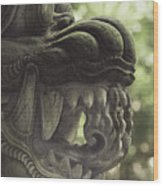 Bali Sculpture Wood Print