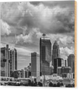 Charlotte North Carolina Wood Print