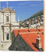 Croatia, Dubrovnik Wood Print