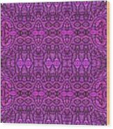 Purple Shade Wood Print