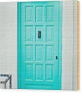 Front Door Wood Print by Tom Gowanlock