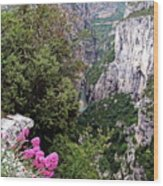 Grand Canyon Du Verdon Wood Print