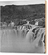 Idaho: Shoshone Falls Wood Print
