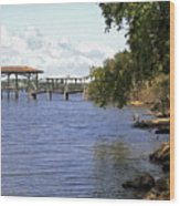 Indian River Lagoon Wood Print