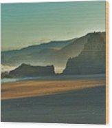 Irish Beach Wood Print
