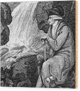 Jean Jacques Rousseau Wood Print