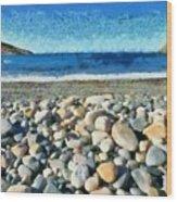 Livada Beach  Wood Print