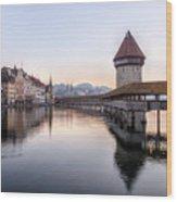 Lucerne - Switzerland Wood Print