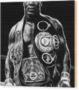 Mike Tyson Collection Wood Print