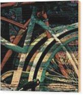 9 Million Bicycles  Wood Print