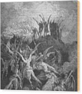 Milton: Paradise Lost Wood Print by Granger