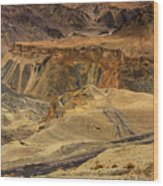 Moonland Ladakh Jammu And Kashmir India Wood Print