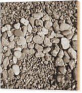 Pebbles 1 Wood Print