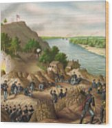 Siege Of Vicksburg, 1863 Wood Print