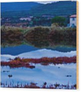 South Of France Series Wood Print