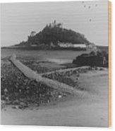 St Michaels Mount Wood Print