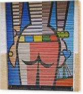 Street Art In Palma Majorca Spain Wood Print