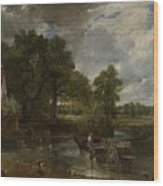 The Hay Wain Wood Print