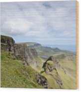 The Quiraing Wood Print