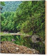 Williams River Summer Wood Print