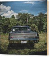 Classic Cars Wood Print
