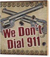 911 Wood Print